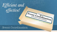 Event Coordination - Efficient and effective!