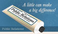 Public Relations - A little can make a big difference!