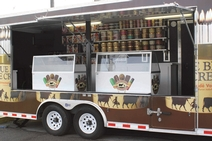 Blue Bell Creameries' Ice Cream Trailer